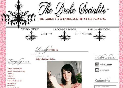 The Broke Socialite