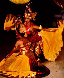 Bali Dancers / Balinese Dance - Wings