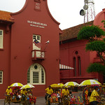 Bicycles and Stadthuys - Melaka, Malaysia