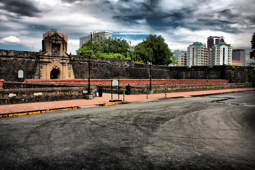 Bridge and gate at Fort Santiago