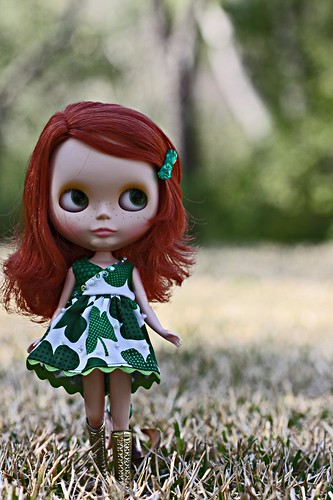 The St. Patrick's day girl! by happibug