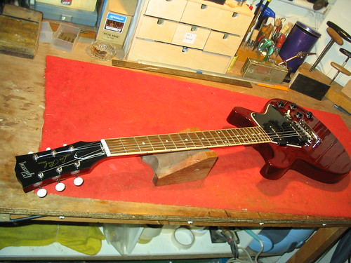 electric guitar repair gibson les paul special graham parker luthier. Black Bedroom Furniture Sets. Home Design Ideas
