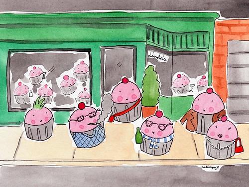 Cake Art Kirkland Wa : Save the Date: CakeSpy Art Show at Trophy Cupcakes!   CakeSpy