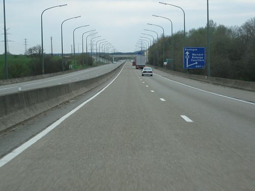 Constant slope barrier : Jersey barriers