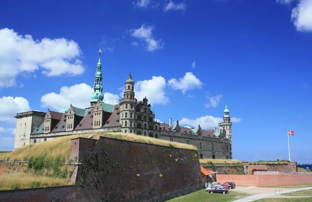 Kronborg Slot, Helsingor, Denmark, fotoeins.com
