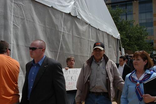 Rick Perry at City Hall