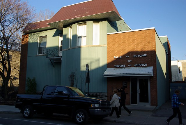Salle du royaume des Témoins de Jéhovah - rue Villeneuve