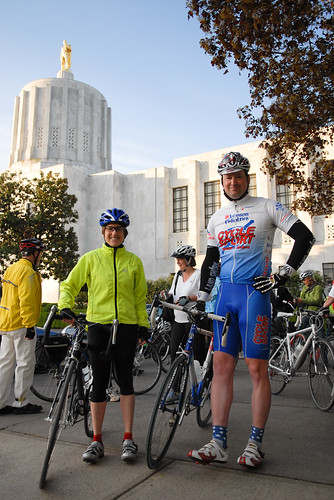 Legislator bike ride at the Oregon Bike Summit-3
