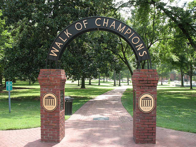 Ole Miss Walk of Champions The Grove