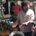 Small photo of In Alessio's kitchen