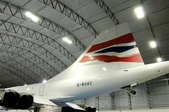Concorde Alpha Charlie at Manchester Eco Hangar 10