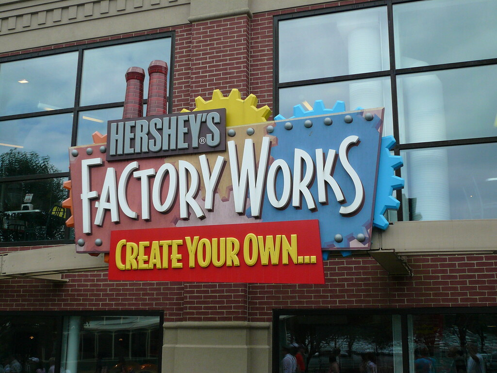 Factory Works Hershey Chocolate World July 2009