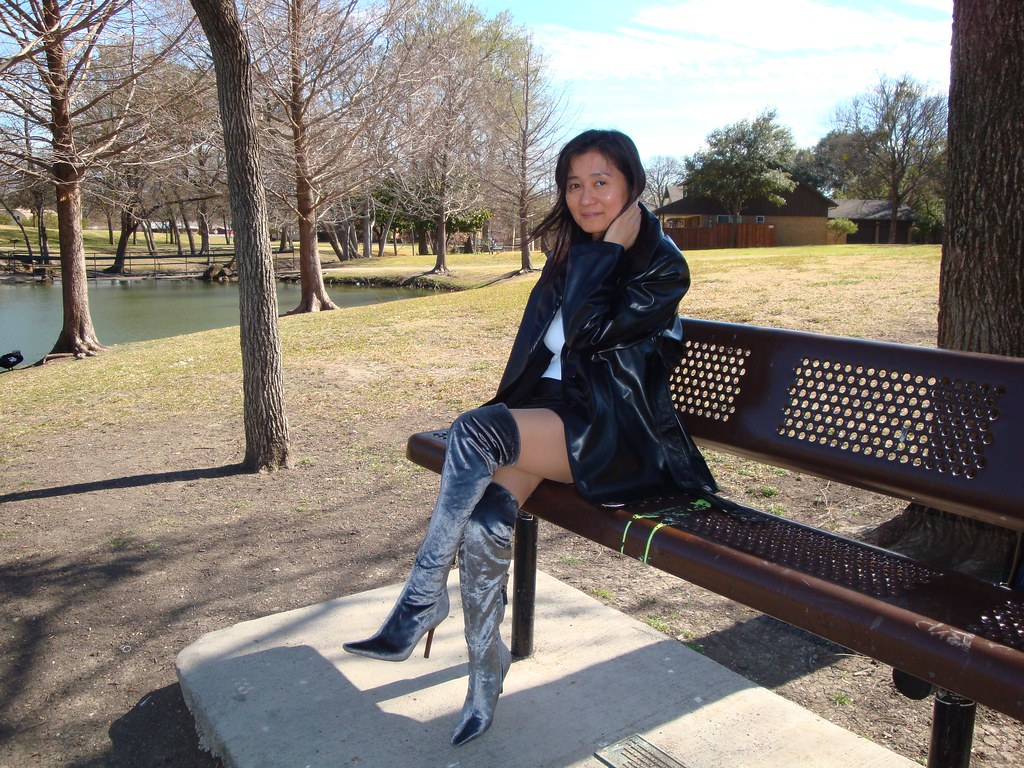 Boots in Asian chick