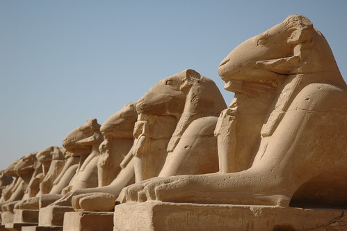 Avenue of the Ram-headed Sphinxes