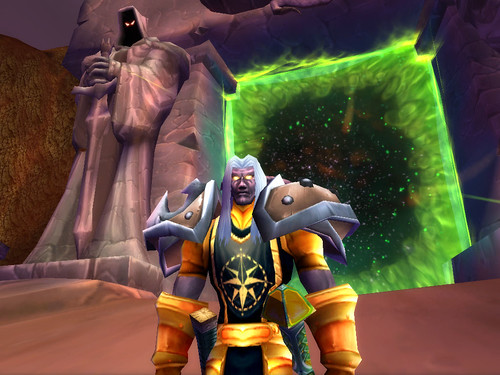 Thalzion at Dark Portal