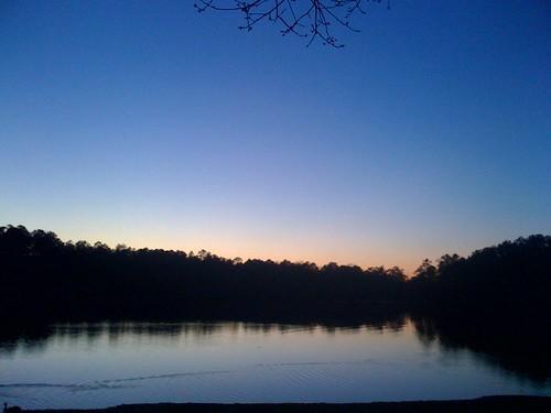 sunset lake reflection mobile emailupload iphone snaptweet