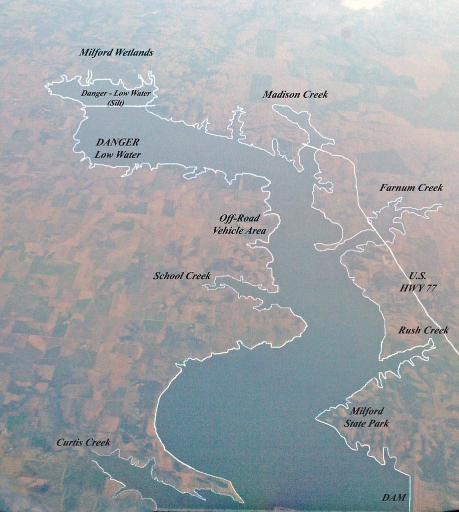 Milford Lake Kansas Map.Milford Lake The Largest Lake In Kansas Milford Lake Loc Flickr