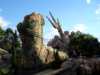 Image of Poseidon's Fury. winter 2009 orlando florida usa universalstudios theme park islandsofadventure poseidonsfury
