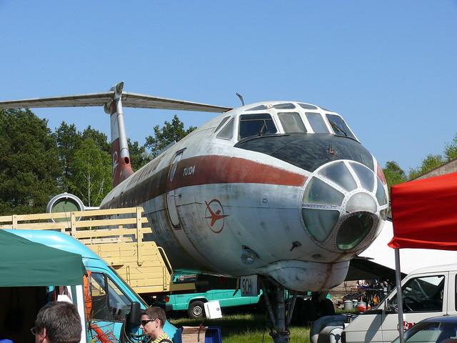 Interflug Tupolew Tu-134