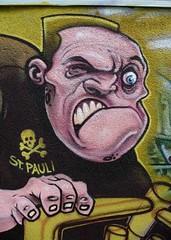 Graffiti : ALDI hall St.Pauli