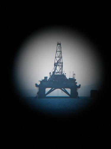 baku azerbaijan rig oil caspian