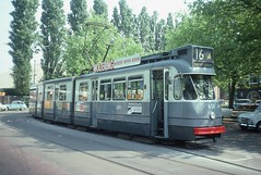 Trams d'Amsterdam (Hollande)