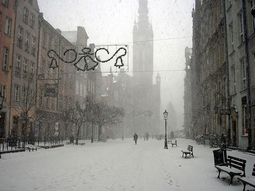 Gdansk. Dluga street