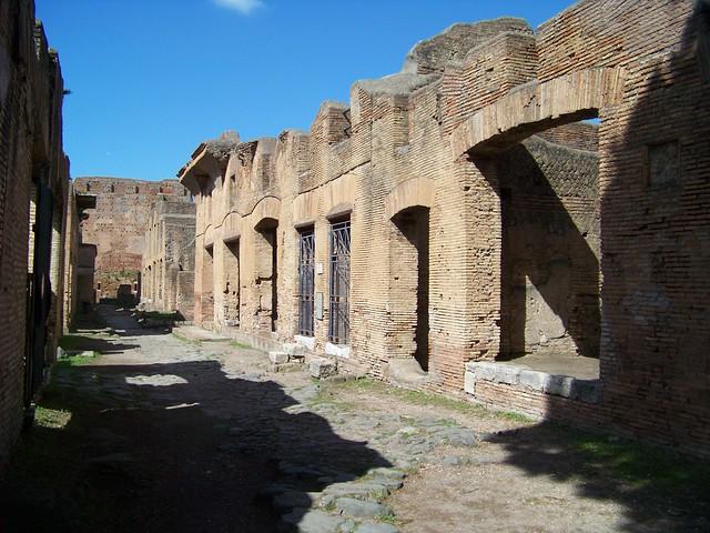 Insulae  Ostia Antica