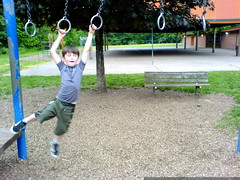 nick testing out the playground   DSC02925