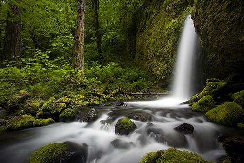 longexposure nature oregon landscape waterfall falls lower columbiarivergorge ruckelcreek