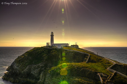 South Stack Island Lighthouse