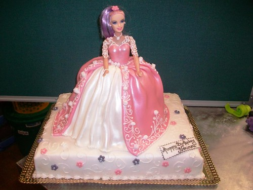 Download Barbie Cake Images : Image Pin Ballerina Barbie Cake Tuff Cookie Cakes By ...