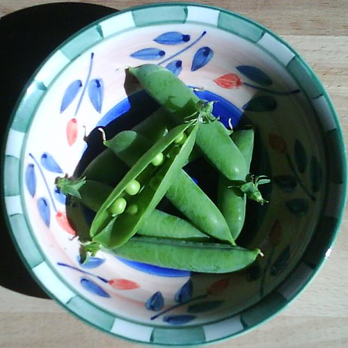 storing peas