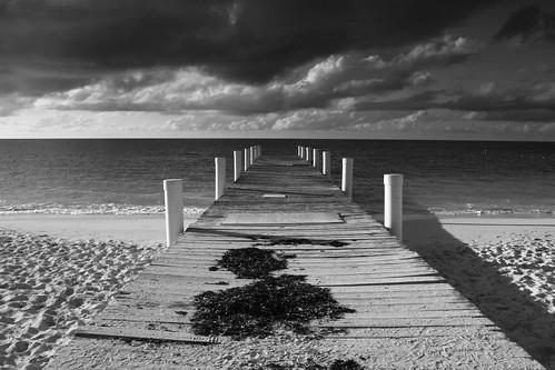 white black beach bay dock jetty grace explore turks caicos providenciales explored bojorchess absoluteblackandwhite