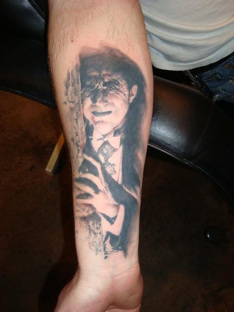 dracula tattoo | Flickr - Photo Sharing!