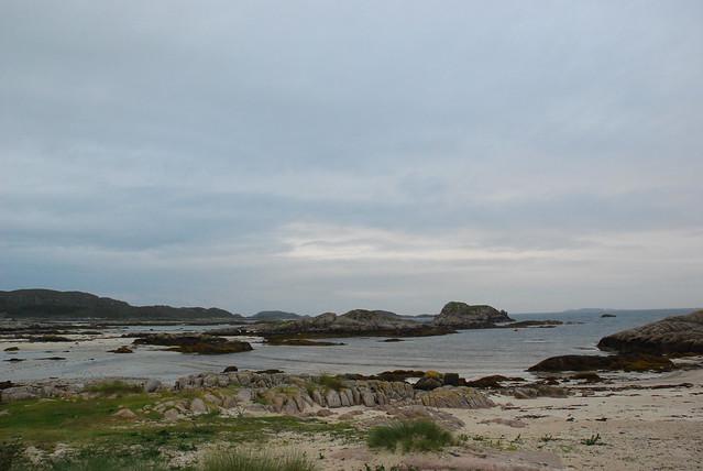 beach at Fidden, Mull