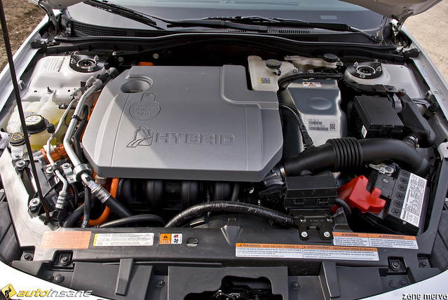 ford fusion hybrid engine compartment flickr photo sharing. Black Bedroom Furniture Sets. Home Design Ideas