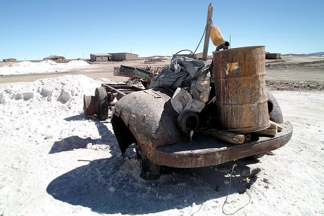 Car Corrosion Salt Use Map