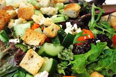meal(0.0), produce(0.0), spinach salad(1.0), panzanella(1.0), salad(1.0), vegetable(1.0), vegetarian food(1.0), leaf vegetable(1.0), food(1.0), dish(1.0), cuisine(1.0), caesar salad(1.0),
