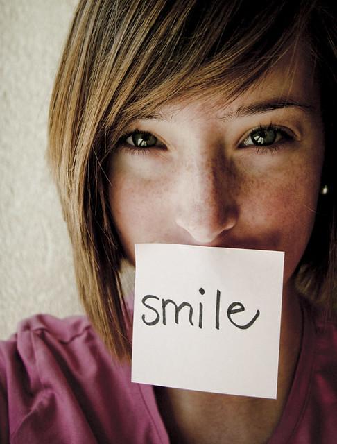smile pink