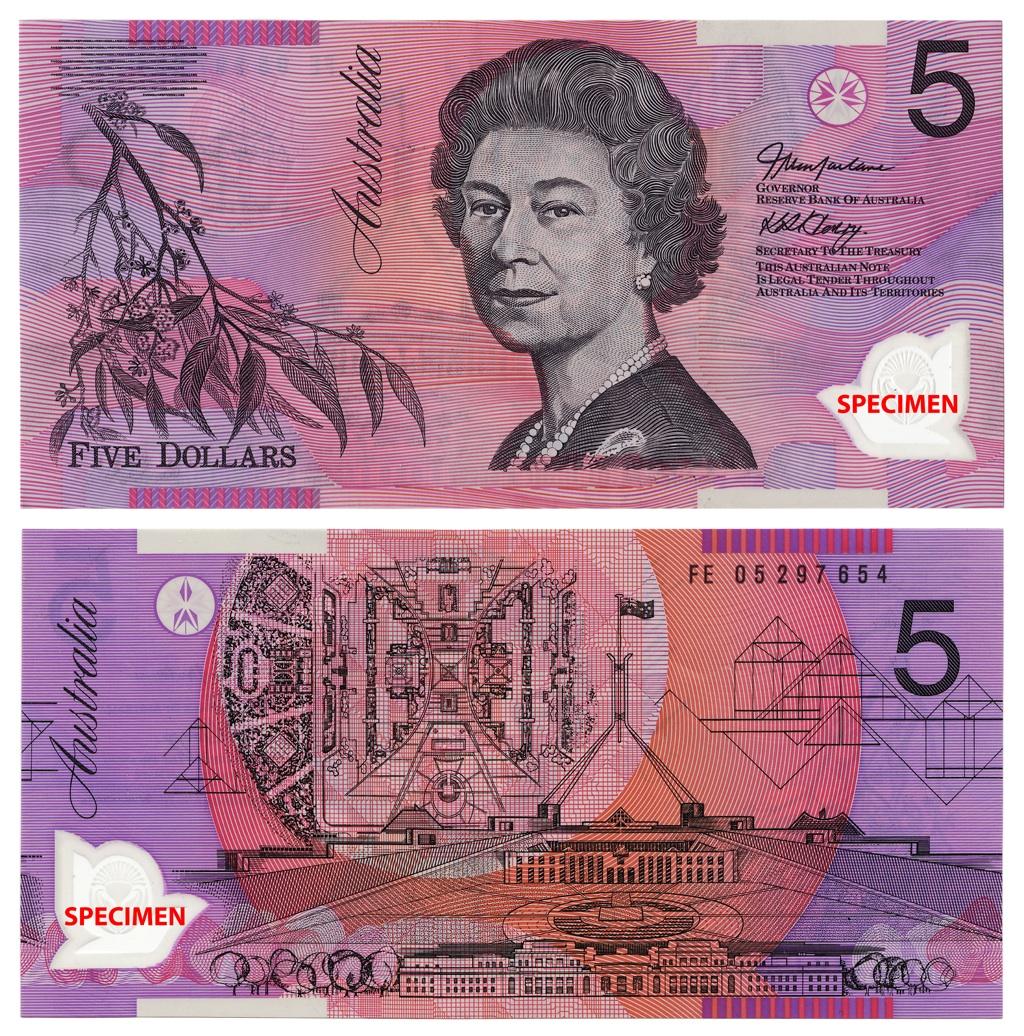 Australian Dollar Note