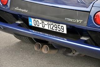 Lamborghini Diablo VT 6.0 exhaust