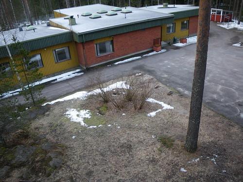 camp church parish finland landscape condemned pap mäntsälä poleaerialphotography seurakunta leirikeskus ahvenlampi