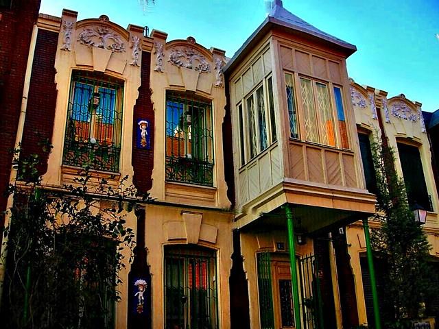 Colonia madrid moderno calles roma y castelar madrid for Madrid moderno