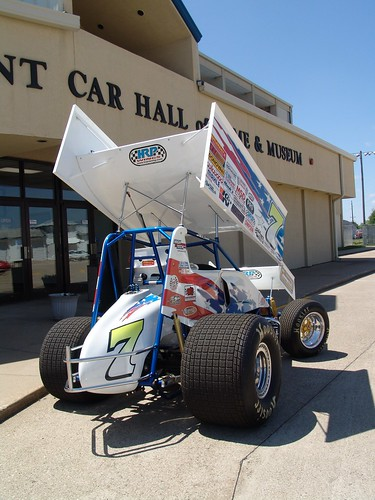 car race hall knoxville fame iowa national win sprint raffle 410
