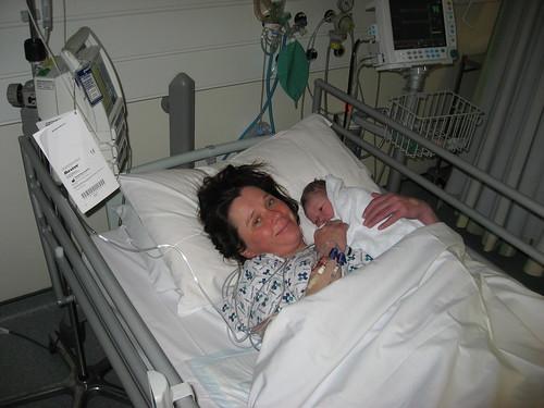 019  Clara May just born 070509
