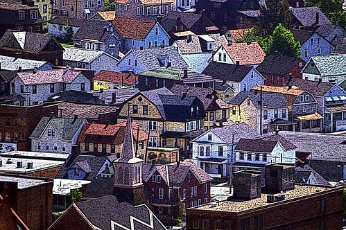 pennsylvania posterized johnstown inclinedplane neighborhoody