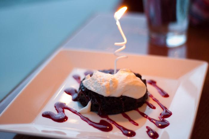 flourless cake.