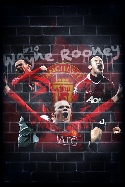 Wayne Rooney Iphone 5 Wallpaper