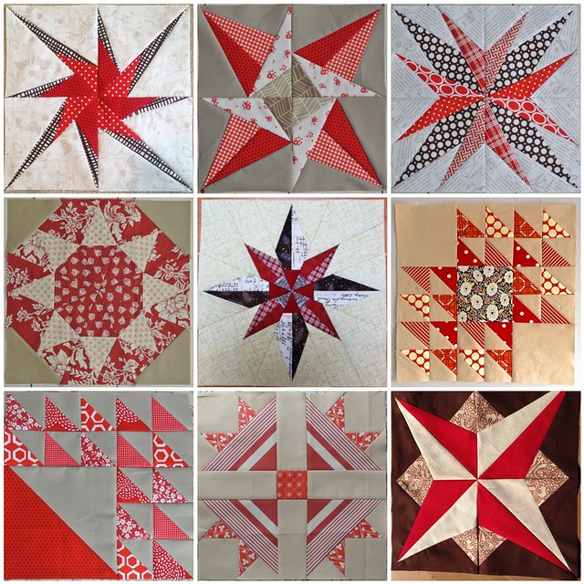 Real Life Red & White Quilt